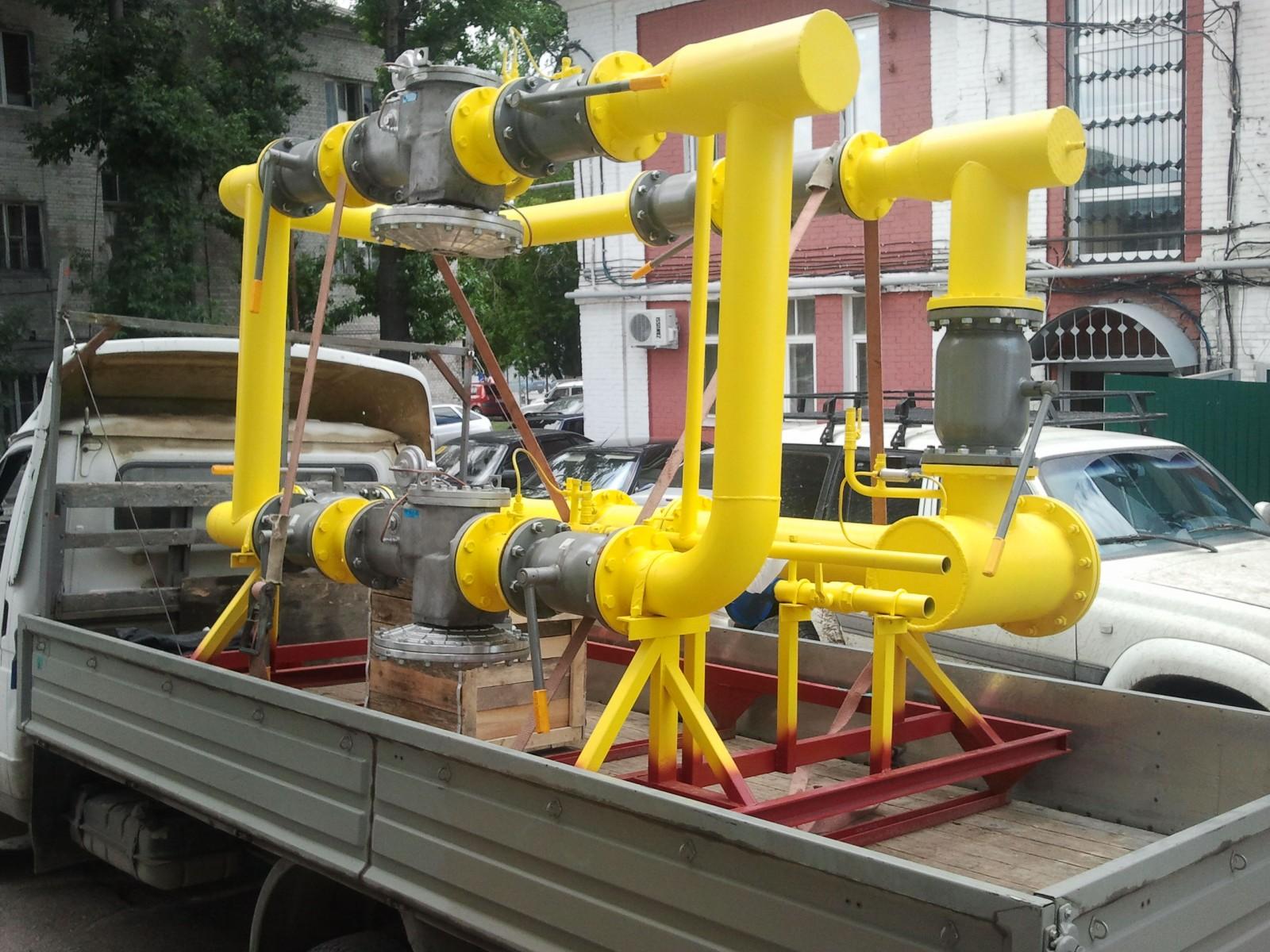 производство газорегуляторных установок